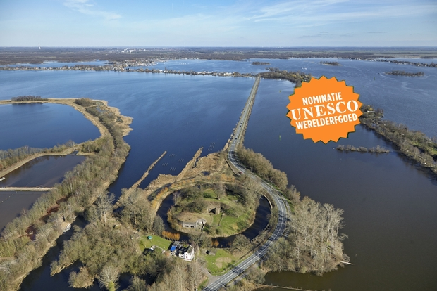 unesco stempel op fort spion