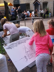 Fortenfestival 2015 - paint for drawing